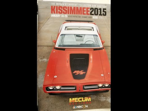 2015 MECUM Kissimmee Auto Auction   PART 1 of  5  (Updated with prices in video description)
