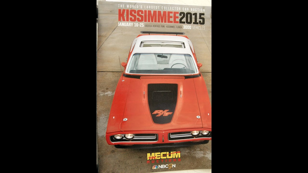 2015 MECUM Kissimmee Auto Auction PART 1 of 5 (Updated with prices ...