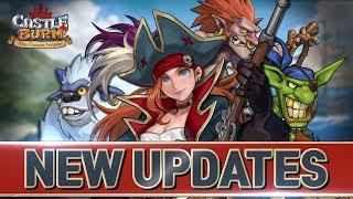 [CastleBurn] Scarlet, Troll slinger, Goblin marauder, pygmy yeti Updates!