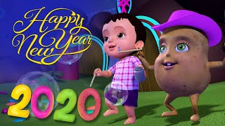 Happy New Year Song 2020 | Hindi Rhymes & Songs for Children | Infobells