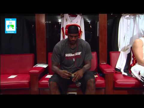 LeBron James Wearing Durag Before Opening Game | LIVE 10-30-12