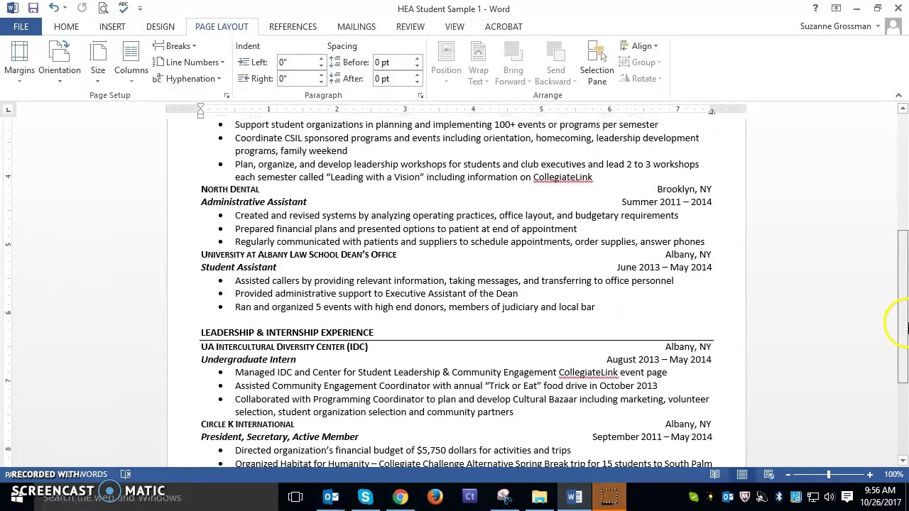 Higher Education Administration Resume Writing Tips Youtube