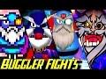 Evolution of Buggler Battles in Bomberman Games (1983-2017)