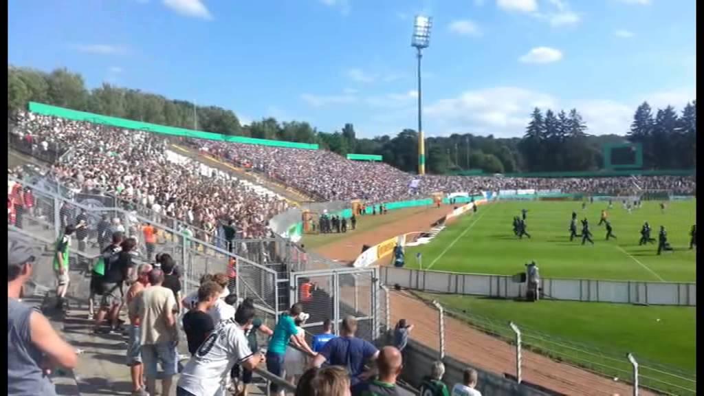 Pokalspiel Mönchengladbach