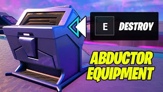 Destroy Equipment on top of Abductors (Fortnite Week 6 Challenge)