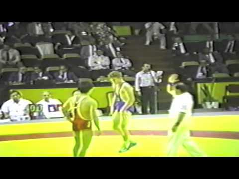 1990 Senior Greco World Championships: ? kg Taipei vs. Romania