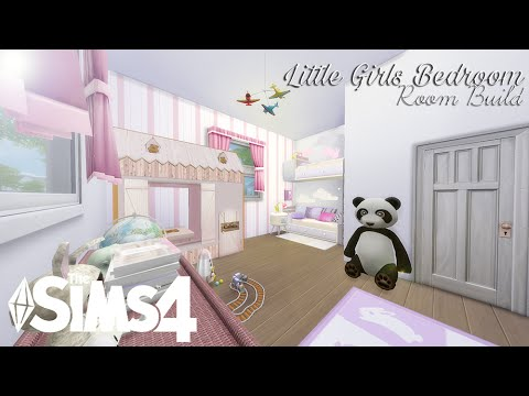 Ordinaire The Sims 4: Room Build | Little Girls Bedroom