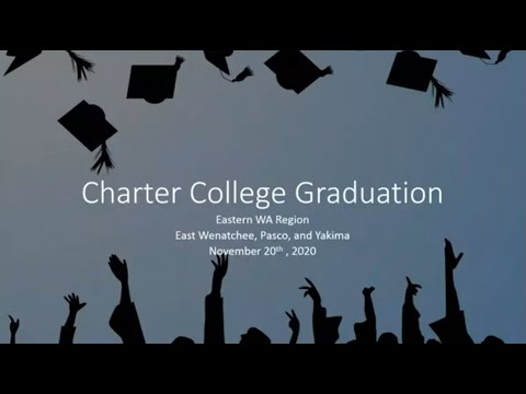 Charter College Eastern WA 2020 Graduation Commencement Ceremony