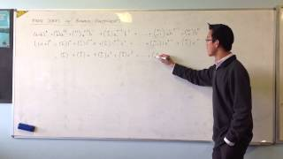 Finite Series w/ Binomial Coefficients: Substitution