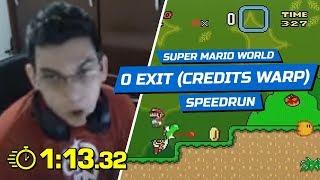 Brasileiro consegue zerar Super Mario em 1 minuto
