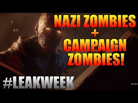 ★CALL OF DUTY BLACK OPS 3★ #LeakWeek - NAZI ZOMBIES, ZOMBIES CAMPAIGN + RAY GUN MK3 (BO3 Zombies)