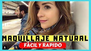Maquillaje natural fácil y rápido 😁✅ | Arréglate conmigo en el tren 🚂  GRWM 💅🏼 | Makeupbyisaa