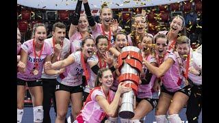 Das Supercup-Finale der Frauen zwischen Sm'aesch Pfeffingen und Viteos NUC