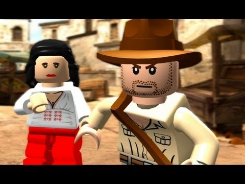 LEGO Indiana Jones: The Original Adventures 100% Guide #3 - City Of Danger (All Collectibles)