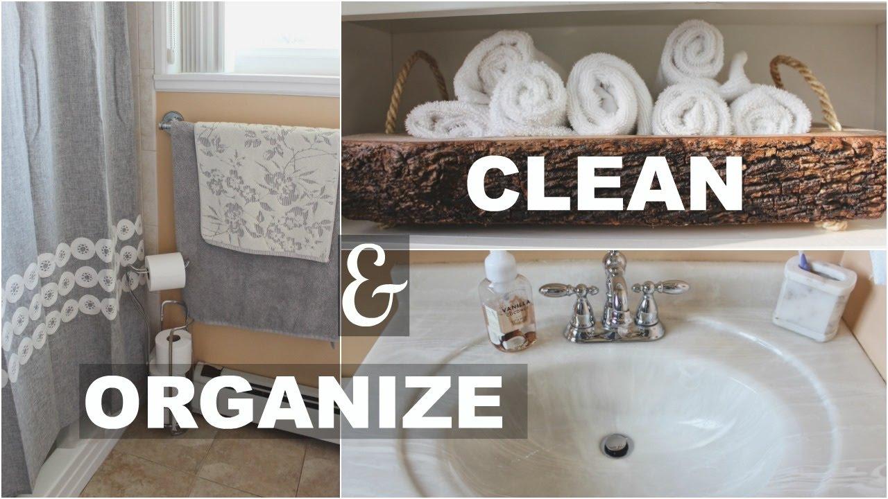 Declutter Your Bathroom Konmari Method Marie Kondo Youtube