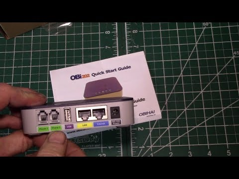 Obihai Obi202 Voip Phone Adapter Vs Comcast Business Voice Adapter Youtube