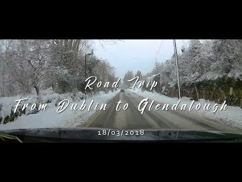 St. Patrick's winter 2018 | Road trip from Dublin to Glendalough in Ireland