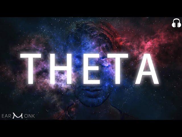 100% Pure THETA Brainwaves Binaural Beats | Astral Projection Frequency | Deep Meditation
