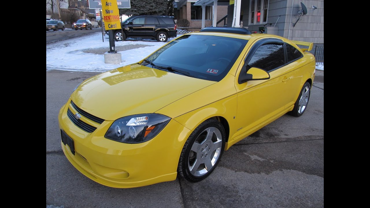 2006 chevrolet cobalt ss supercharged loaded rare elite auto outlet bridgeport ohio youtube. Black Bedroom Furniture Sets. Home Design Ideas