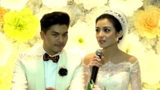 detik detik ciuman mesra chelsea glenn di altar pernikahan