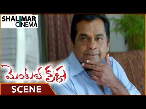 Mental Krishna Movie    Satya Krishnan Caught Brahmanandam Red Handed    Shalimar Cinema