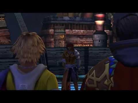 FFX HD: Tidus meets Jecht