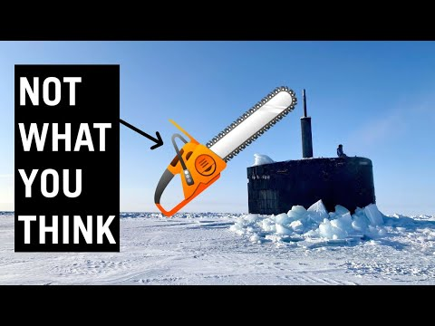 How to Break the Ice - Submarine Edition #shorts