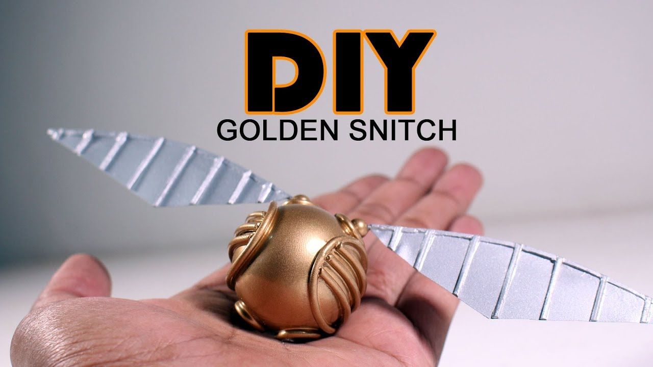 How to Make a Golden Snitch