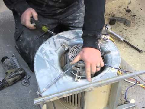 lennox blower motor. diy - how to replace a blower motor, wheel, and housing on lennox g40 furnace motor p
