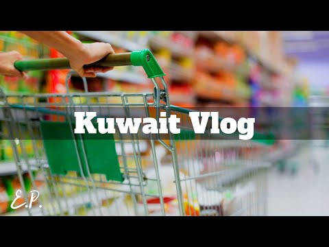 TRAVEL VLOG   Kuwait #2 Grocery shopping