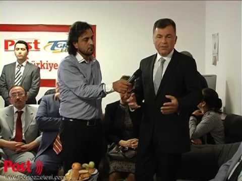Bern Büyükelçisi Mehmet Tuğrul Gücük'ün  POST Gazetesi'ni ofisi açılışındaki konuşması