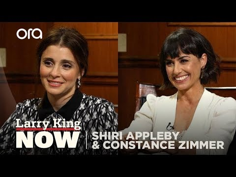 'UnREAL' stars Shiri Appleby and Constance Zimmer on success and Hollywood