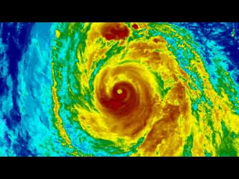 Super Typhoon Kong Rey downgraded to Typhoon status.  October 3 Japan Time 16:03hrs.