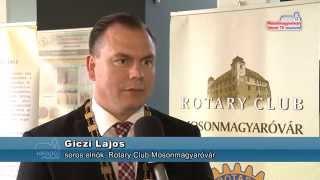 20 éves a Rotary Club  Mosonmagyaróvár