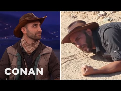 Thumbnail: Coyote Peterson Has Been Stung By The Most Dangerous Insects On The Planet - CONAN on TBS