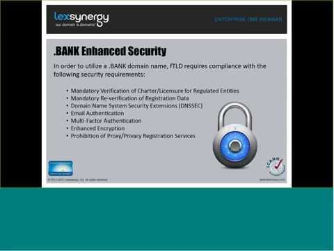 .BANK Webinar Series - Technical Set Up - Anycast DNS