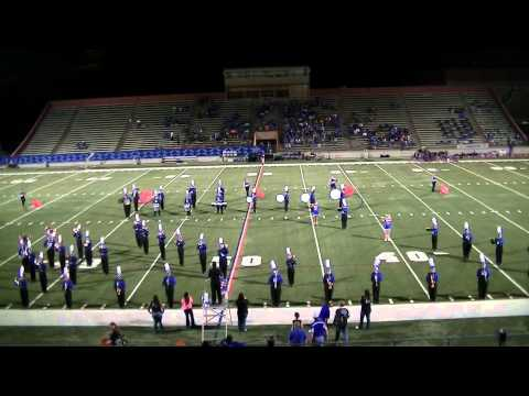 2013 Navasota High School Half Time Performances Game 6 vs McCallum High School October 4