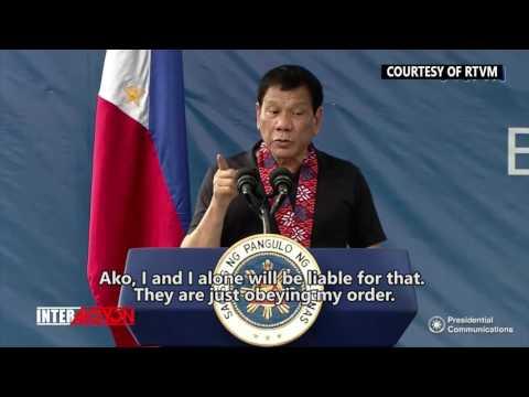 President Duterte offers pardon, clemency to killer cops