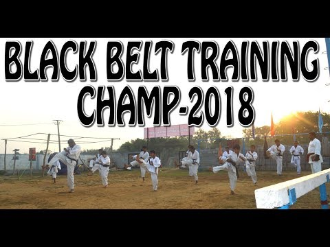 Karate Black Belt - 2018