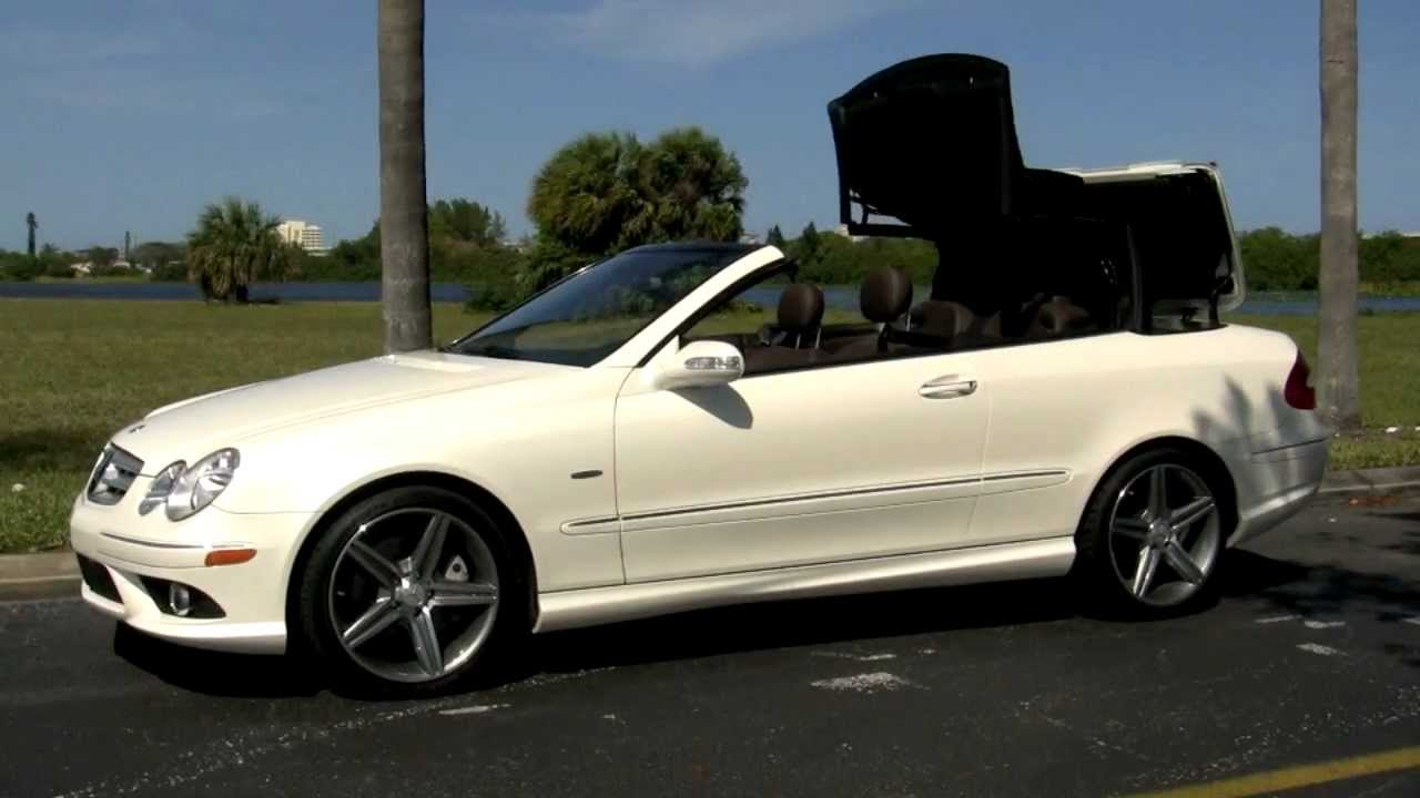 2009 Mercedes Benz Clk350 Grand Edition Diamond White Metallic A2788 Youtube