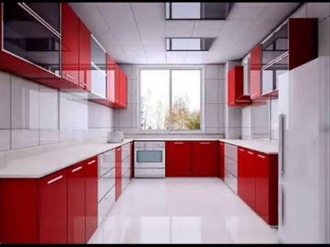 Stainless Steel Finish Aluminium Modular Kitchens Call