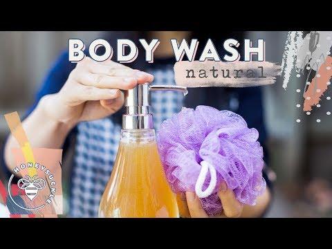 DIY Natural Body Wash - NATURAL BEAUTY SERIES | HONEYSUCKLE