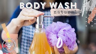 DIY Natural Body Wash - NATURAL BEAUTY SERIES | HONEYSUCKLE