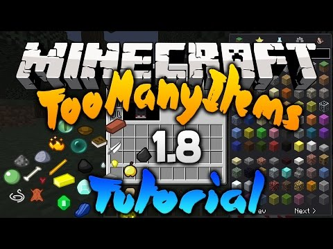 How To Install TooManyItems In Minecraft 1.8 (non-forge) PC