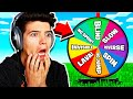 MINECRAFT RAINBOW WHEEL HIDE AND SEEK with MY LITTLE BROTHER AND SISTER!