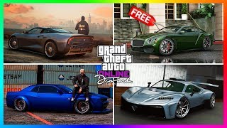top 10 best cars vehicles items to buy from the diamond casino resort dlc update in gta online