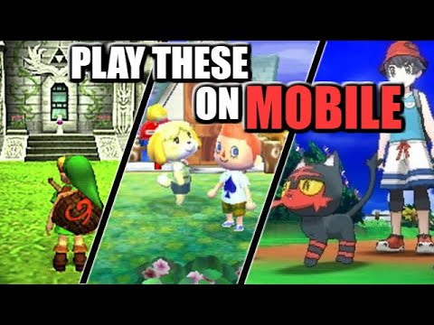 Play Pokemon, Animal Crossing & Zelda 3DS Games On MOBILE PHONE
