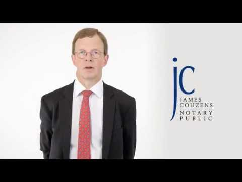 REQUIREMENTS FOR NOTARISED DOCUMENTS IN CHINA by Notary Public James Couzens