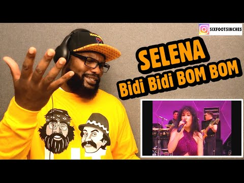 SELENA - Bidi Bidi Bom Bom ( Live From Astrodome ) REACTION