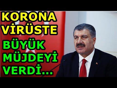 Bakan Koca BÜYÜK MÜJDEYİ VERDİ Koronavirüs Covid-19 Sağlık Bakanı Son Dakika Haber